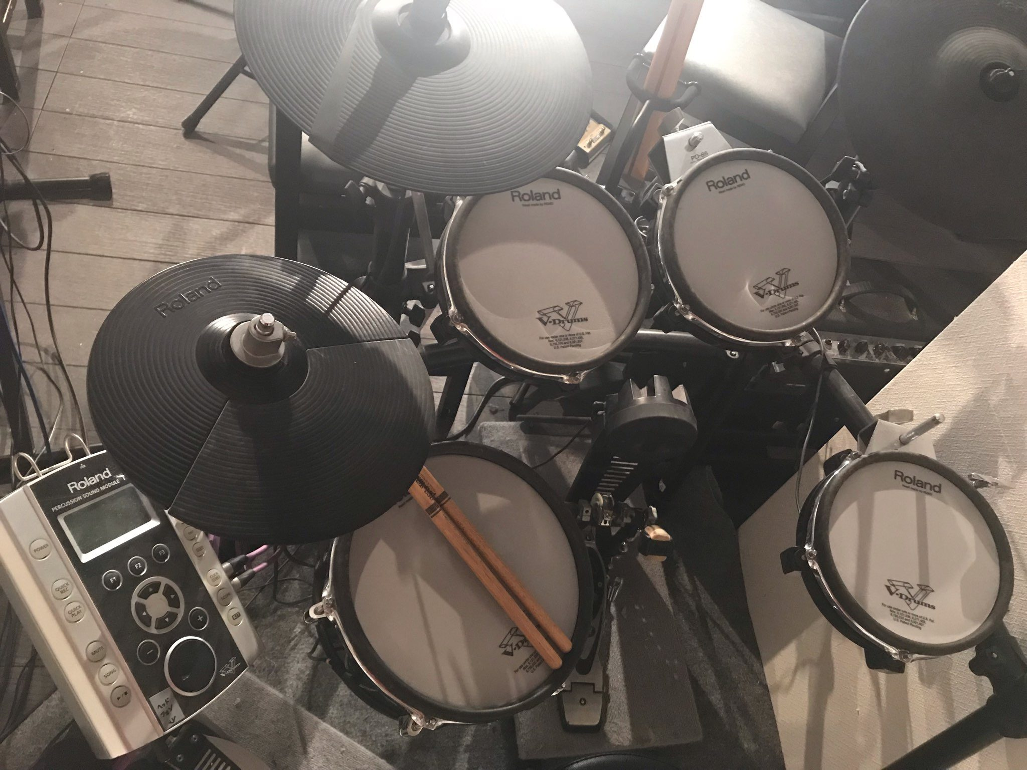 ヤングマスターの電子ドラムのひみつ