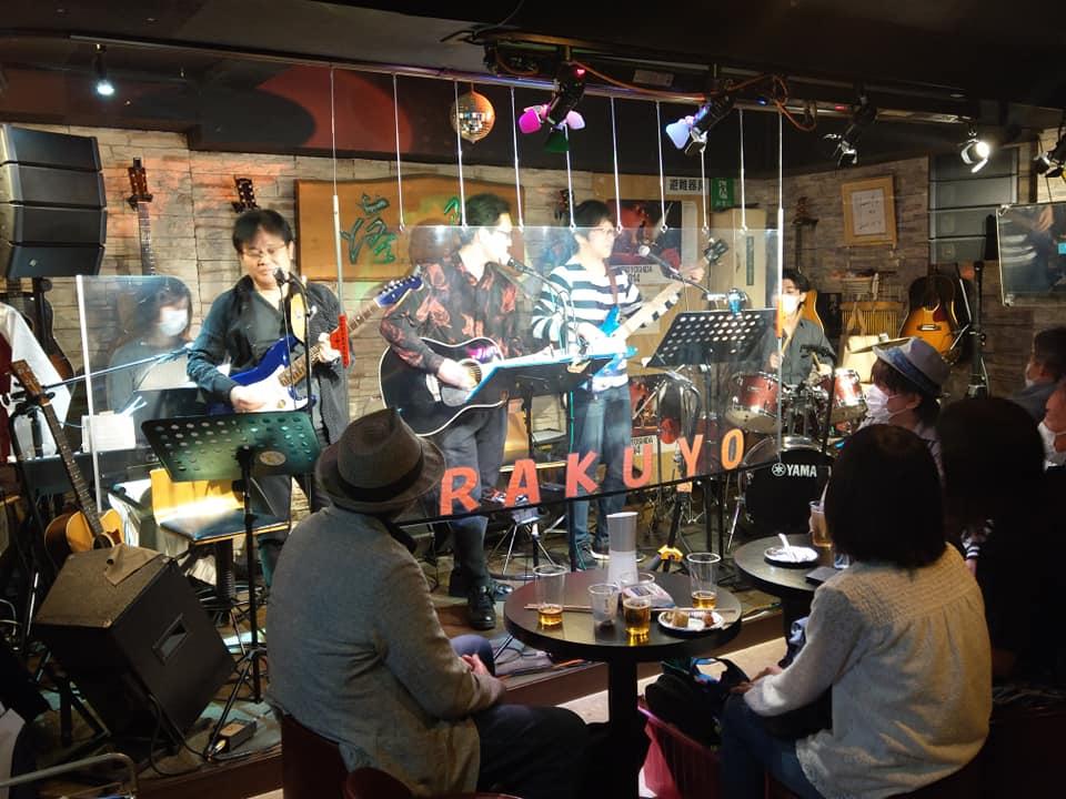 フォーク酒場の元祖、落陽さんのライブに参加してきました!